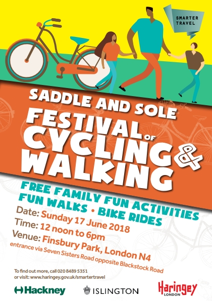 Flyer for Saddle and Sole 2018